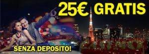 bonus senza deposito casino online