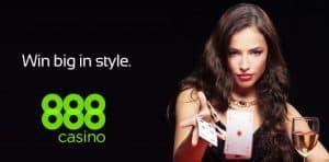 888 casino - Bonus di Benvenuto del 125% e 88 girate gratis