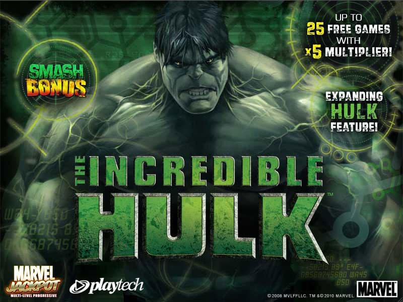 Recensioni videoslot: Incredible Hulk