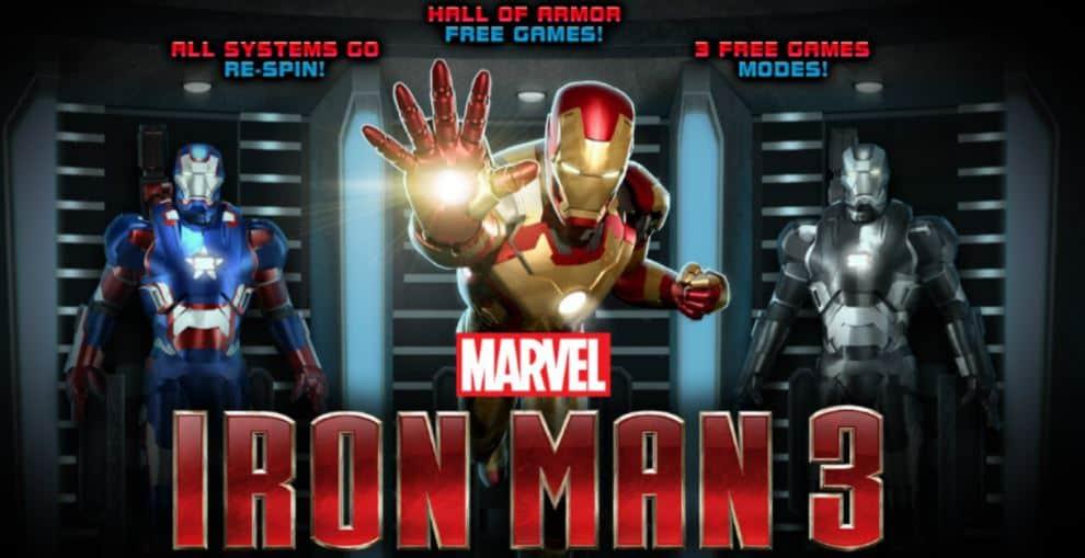 Iron Man 3, tutti i trucchi della nuova slot machine online