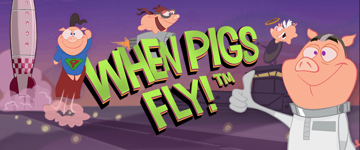 When Pigs Fly – recensione video slot