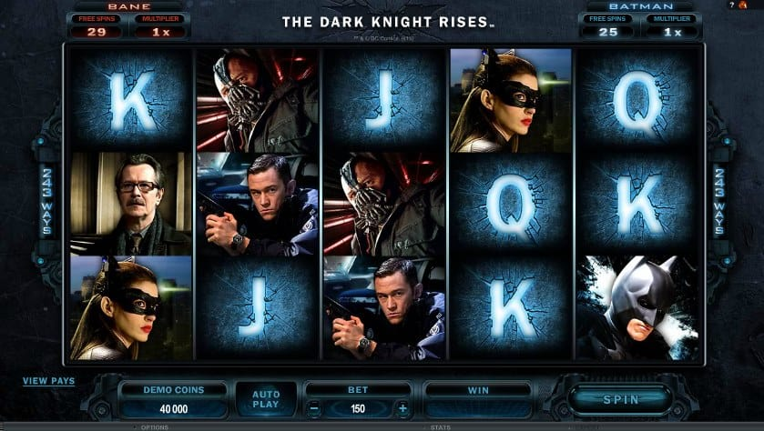 The Dark Knight slot: assumi le sembianze di Batman per salvare Gotham City