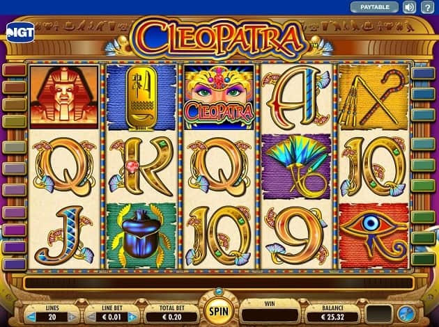 Cleopatra: una videoslot dedicata alla più affascinante regina della storia