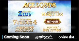 Promozione Playtech Ages of Gods