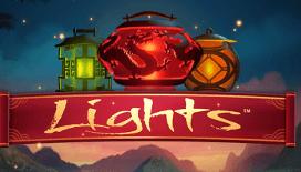 lights slots machine