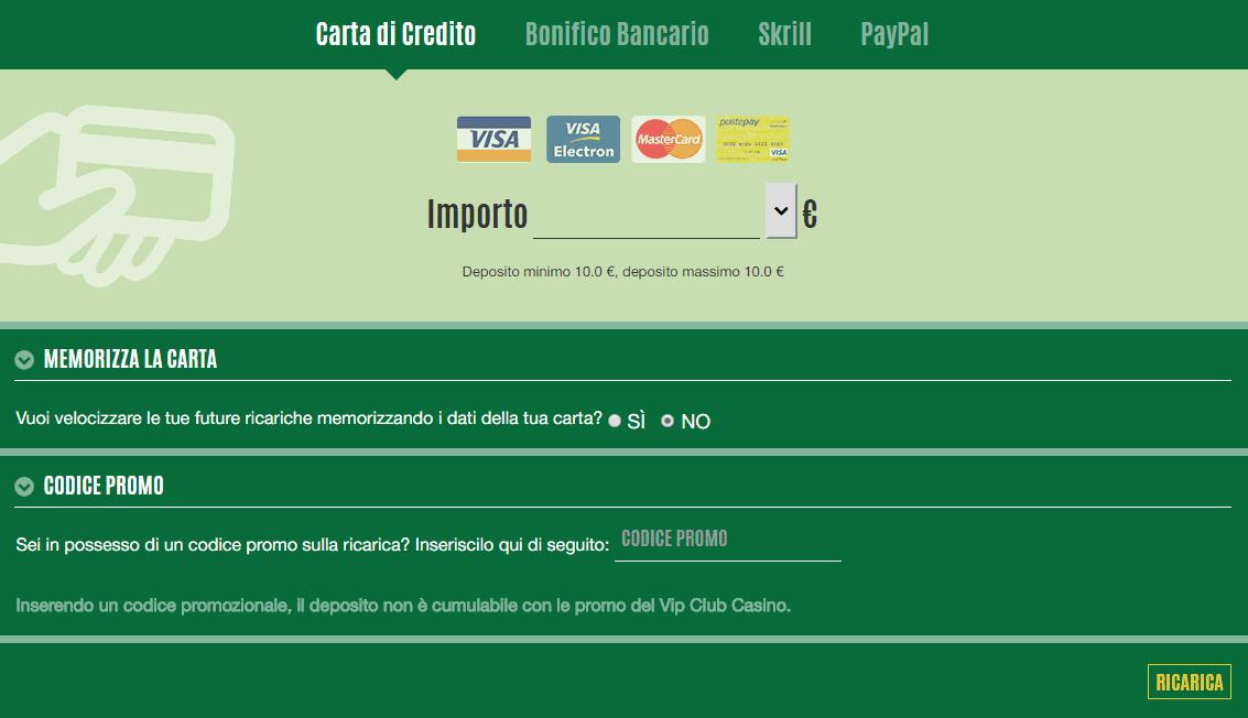 Bonifico bancario - come usarlo come pagamento nei casino online