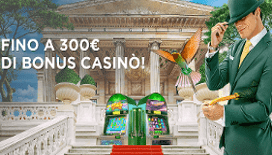<strong>Nuovo Bonus Benvenuto MrGreen: bonus di 300 euro sui primi tre depositi!</strong>