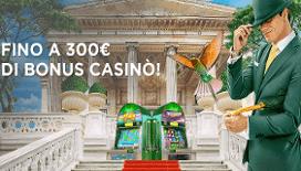 Nuovo bonus benvenuto MrGreen casino
