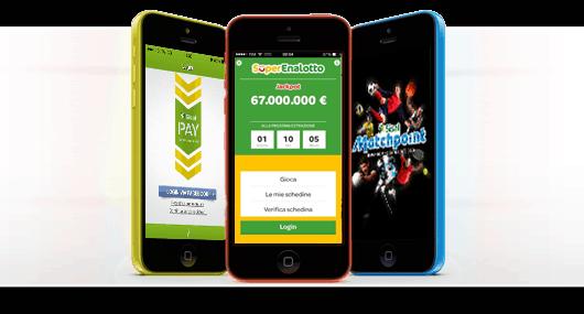 sisal casino app mobile