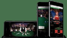 Blackjack live mobile