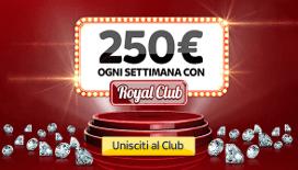Bonus garantito Skybet da 250€