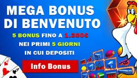 Bonus benvenuto betnero casino : 100% fino a 1300€