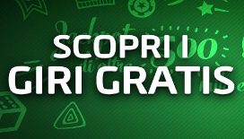 Ricevi tanti giri gratis nei migliori casino italiani