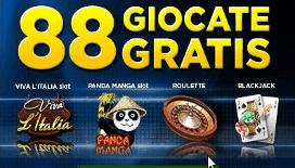 Bonus senza deposito 888 casino: tanti giri gratis per il casinò