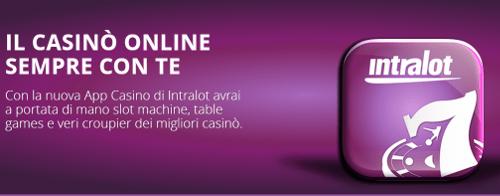 Intralot casino mobile: gioca via cellulare