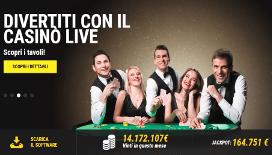 Lottomatica casino live