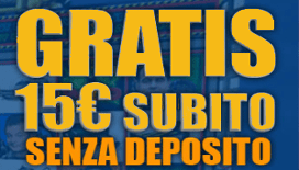 Lista dei migliori bonus senza deposito 2019 nei casino italiani