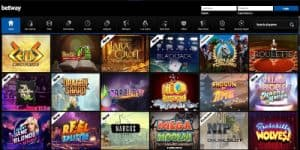Betway casino microgaming