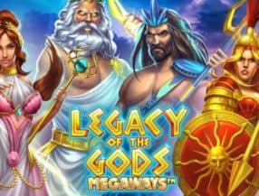 Legacy of the Gods Megaways logo
